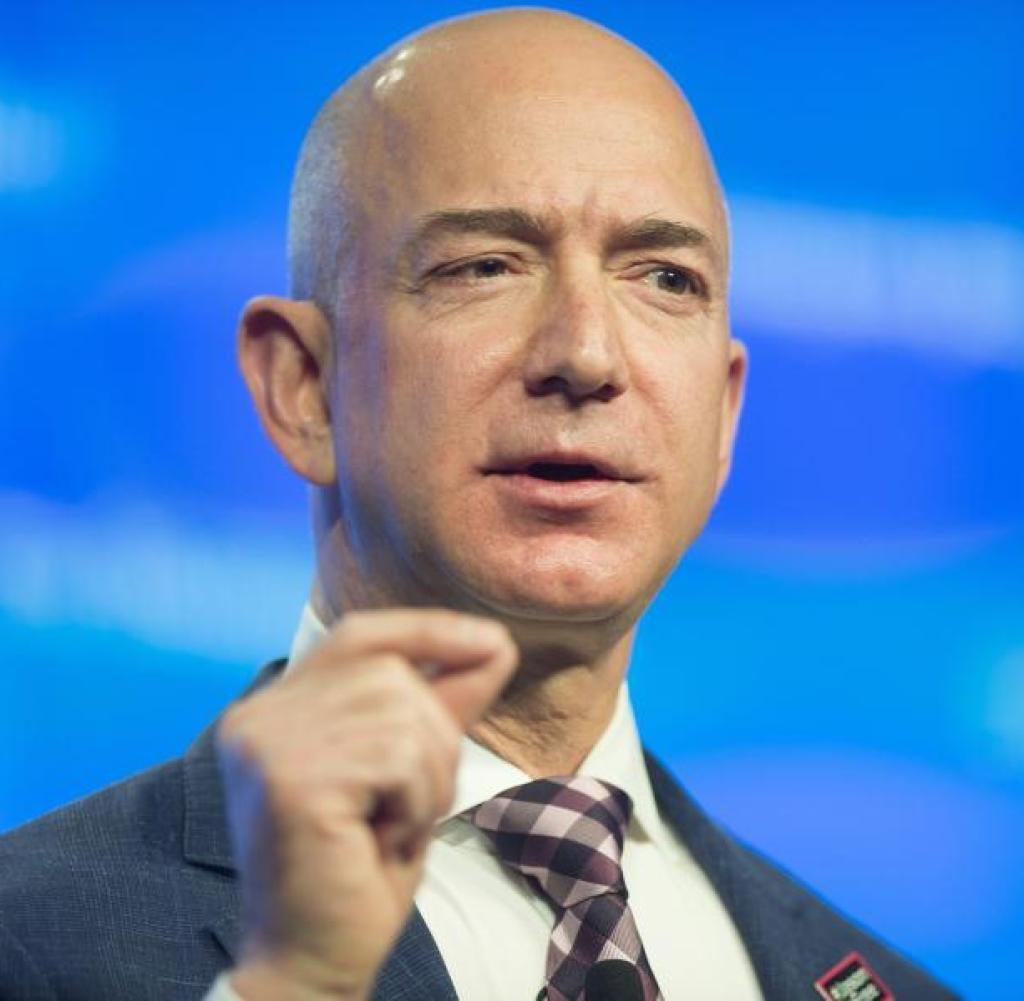 Entrepreneur Jeff Bezos Photoshoots