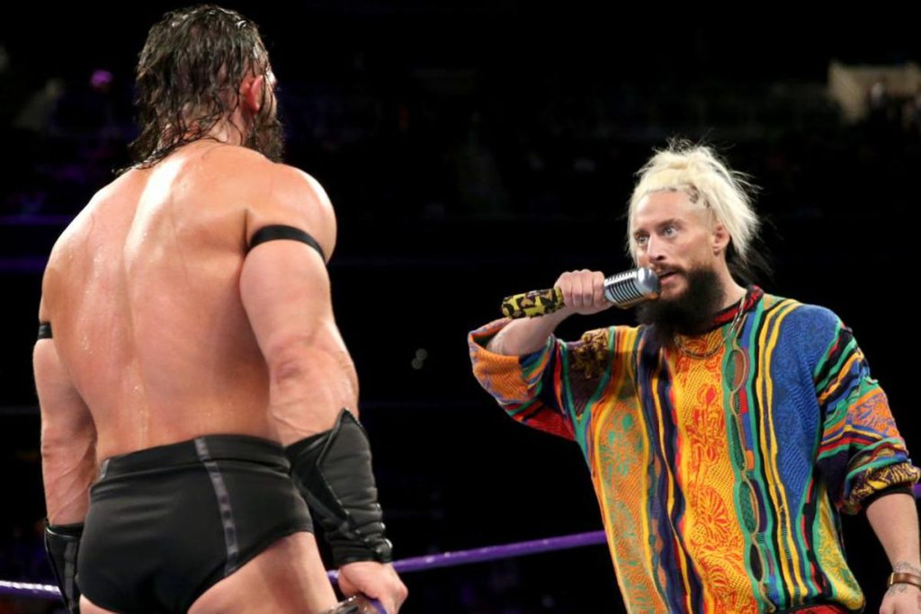Enzo Amore Pics With Other Wrestler