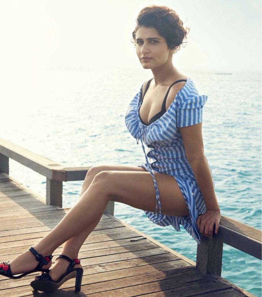 Fatima Sana Shaikh In Bikini Photoshoot