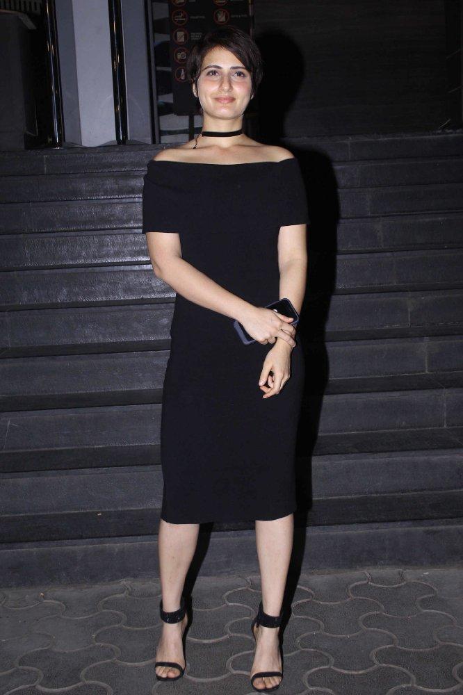 Fatima Sana Shaikh In Black Clothes