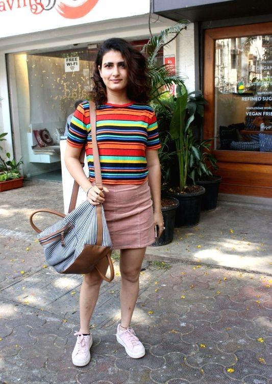 Fatima Sana Shaikh In Short Clothes