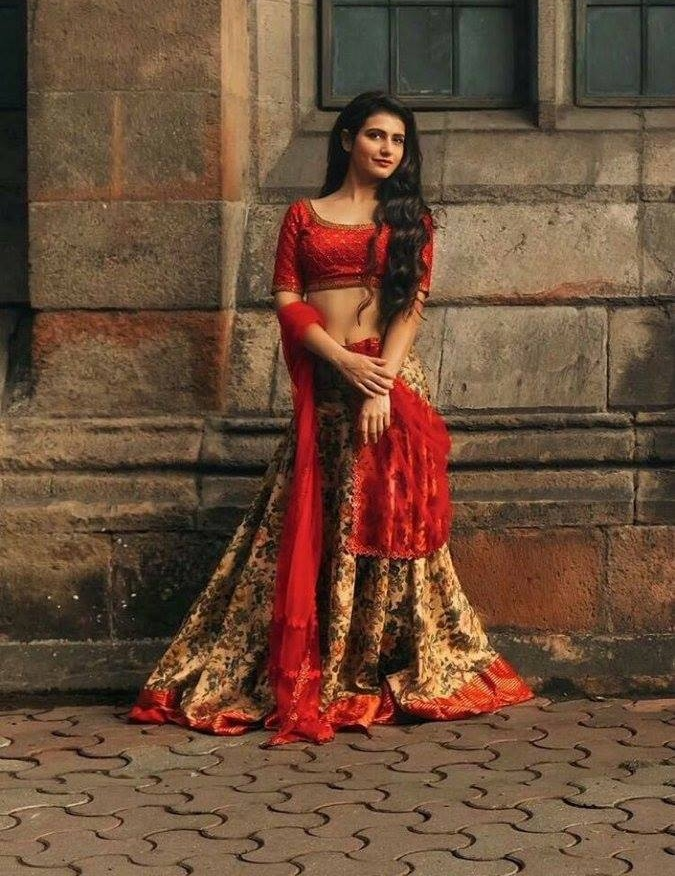 Fatima Sana Shaikh Royal Picture In Indian Look