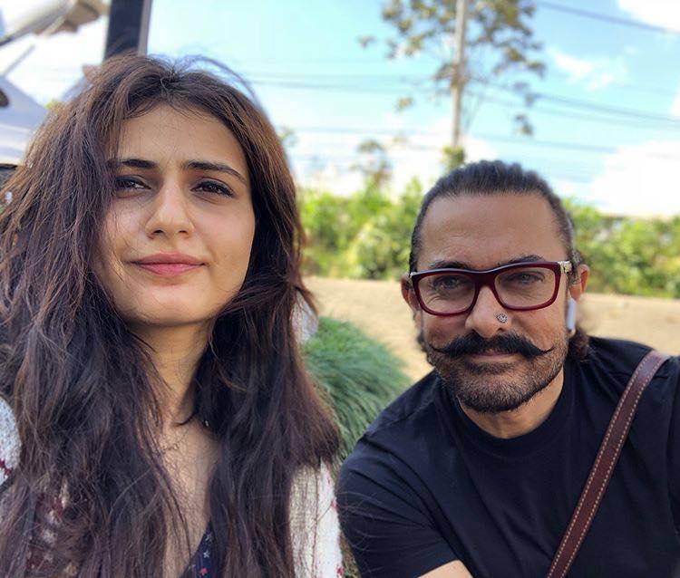 Fatima Sana Shaikh With Aamir Khan Wallpapers