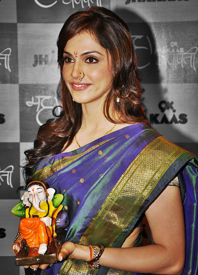 Isha Koppikar In Saree Wallpapers