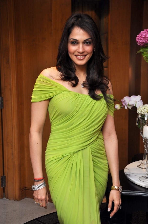 Isha Koppikar Sexy Pics In Green Clothes