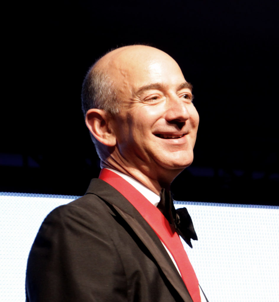 Jeff Bezos Cute Smile Pics