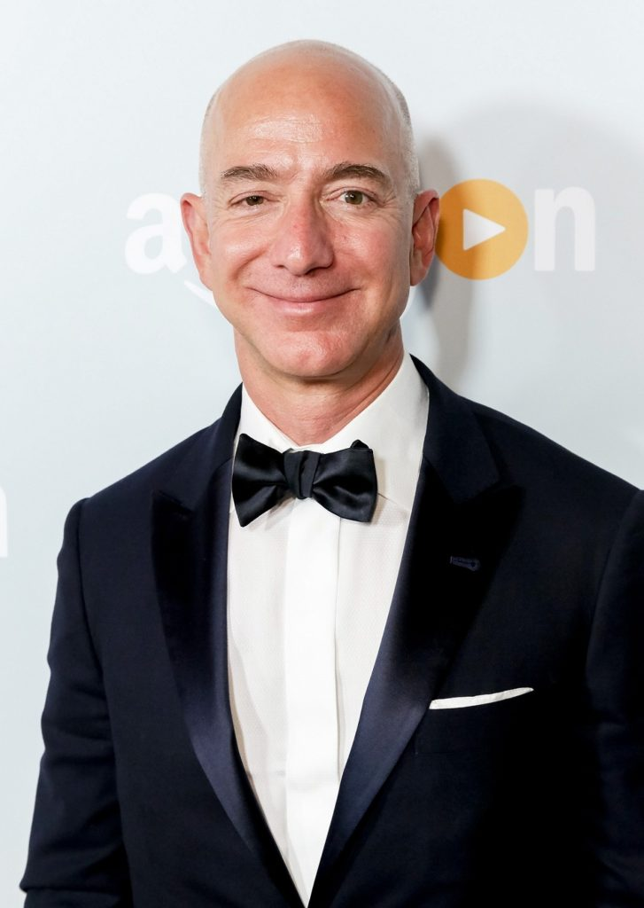 Jeff Bezos Images At Event