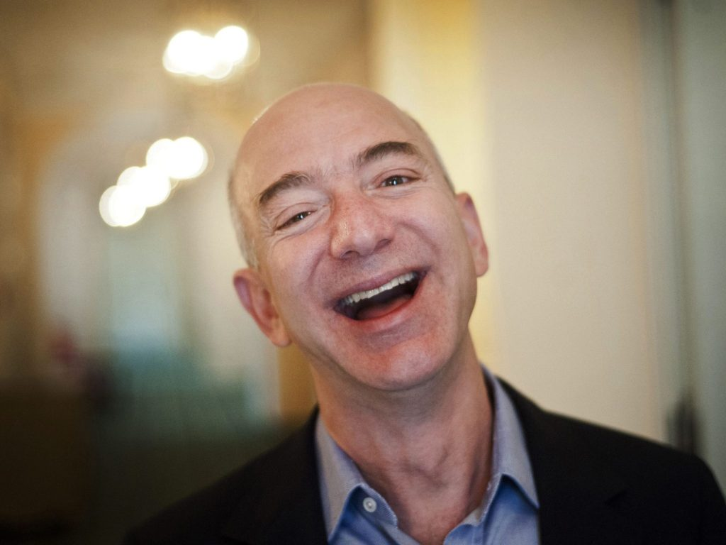 Jeff Bezos Sweet Smile Images