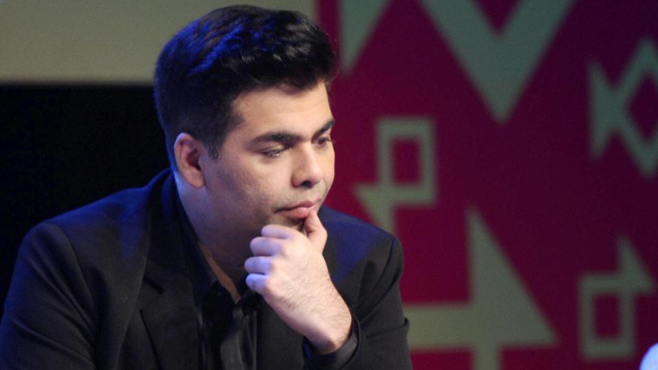 Karan Johar Thinking Pictures