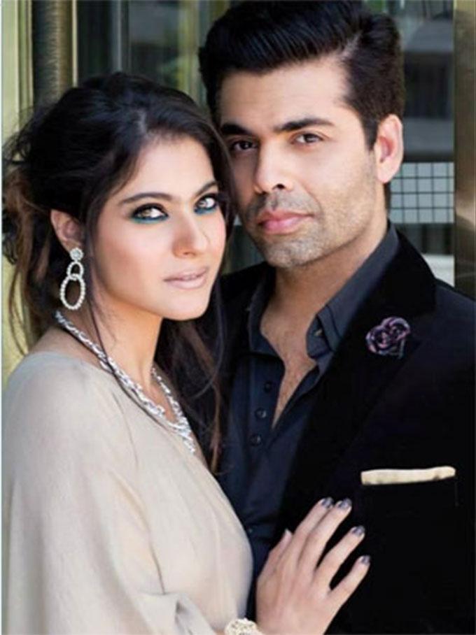 Karan Johar With Kajol HD Wallpapers