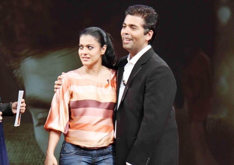 Karan Johar With Kajol Photos HD
