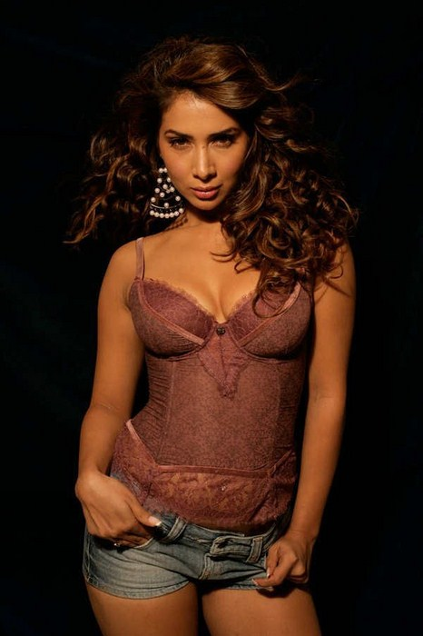 Kim Sharma Photos In Bra Patny