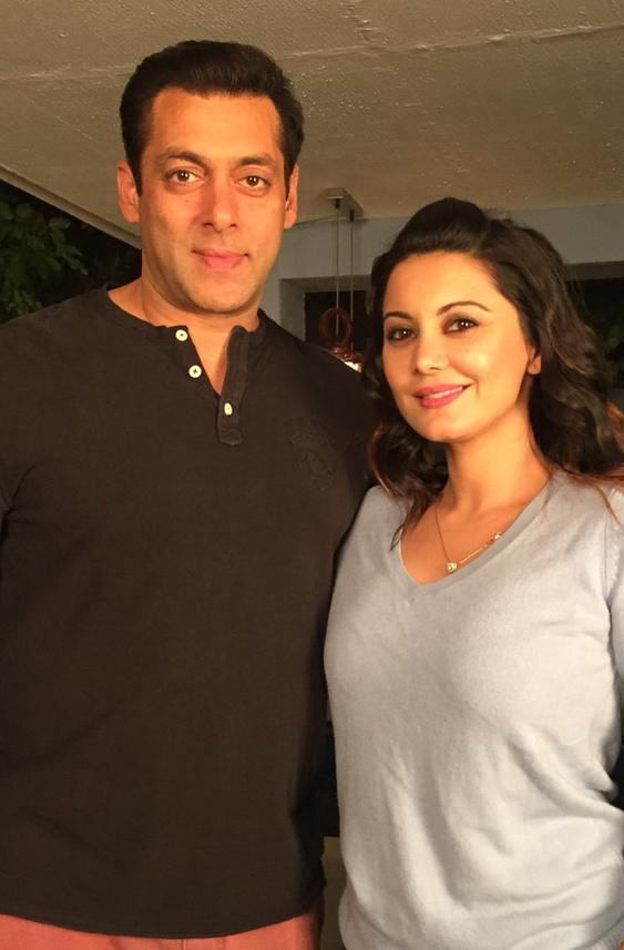 Minissha Lamba Photos With Salman Khan