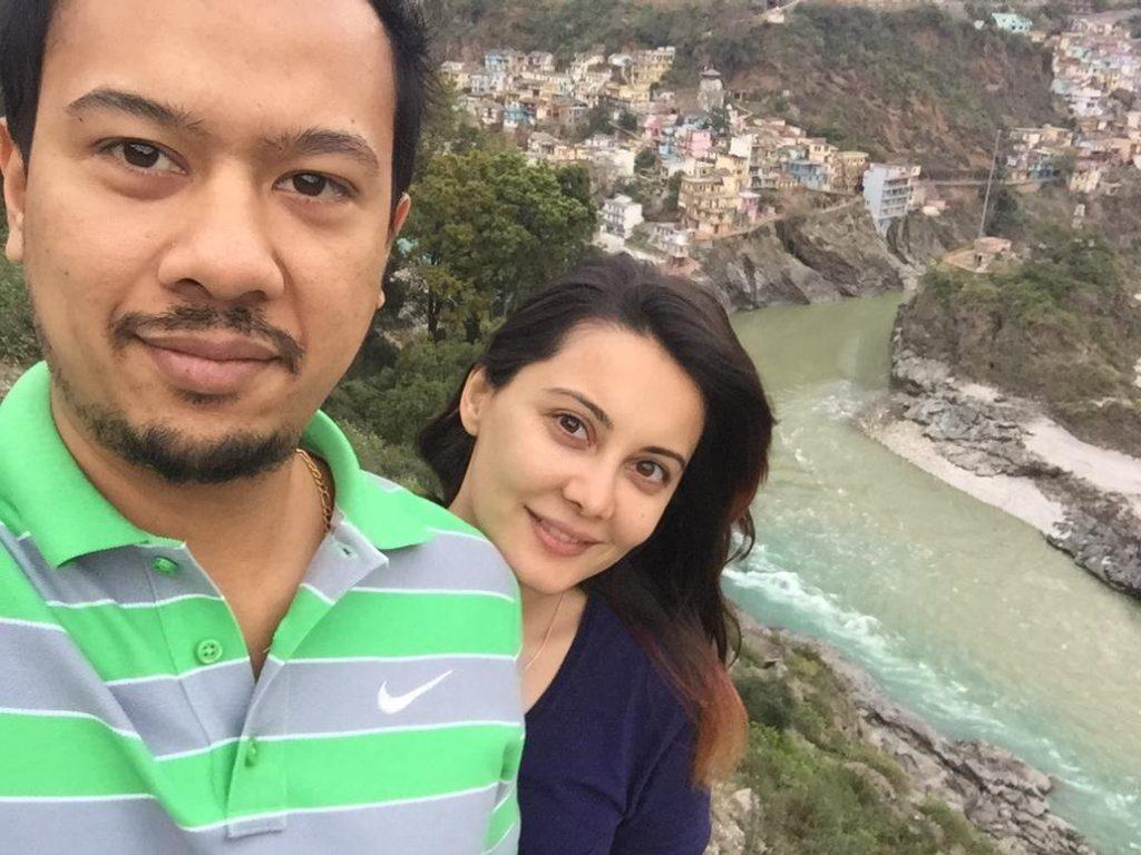 Minissha Lamba Pics With His Husband