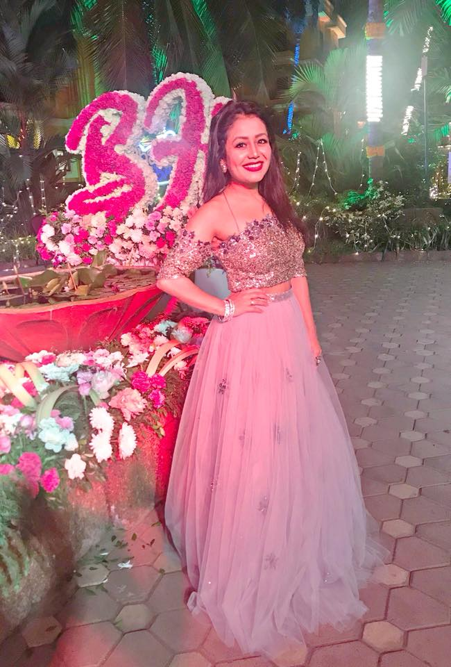 Neha Kakkar At Award Show Photos