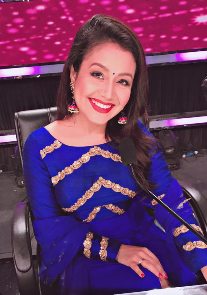 Neha Kakkar Smiling Images