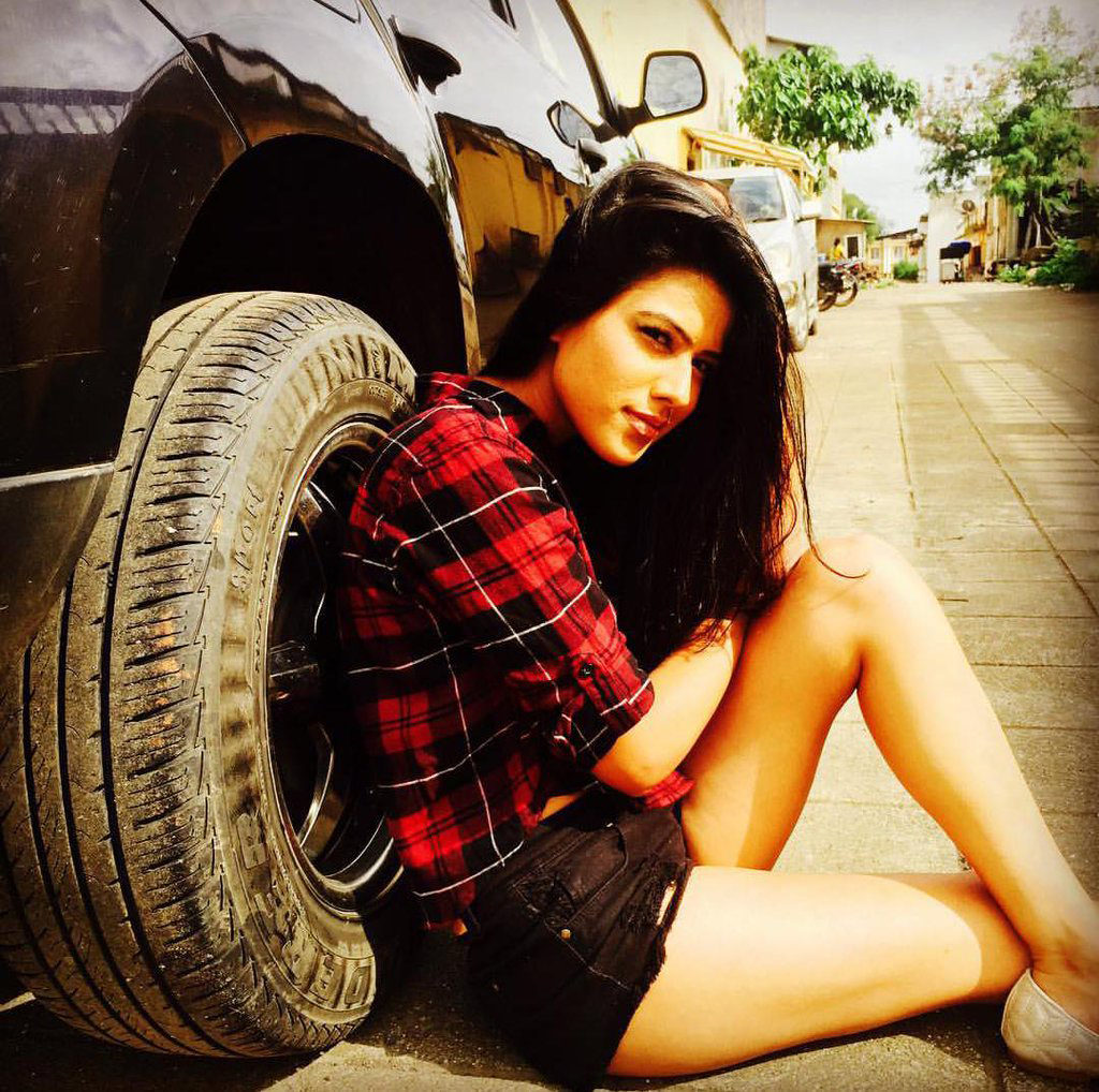 Nia Sharma Pictures In Shorts