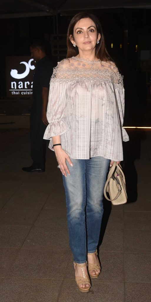 Nita Ambani Images In Jeans Top