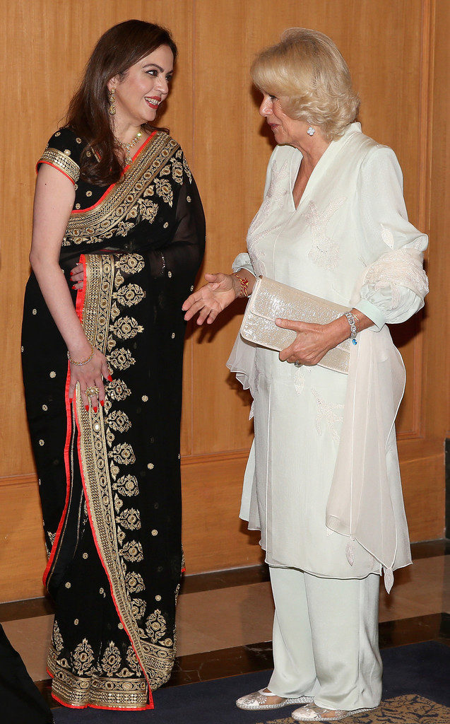 Nita Ambani Photos With Camilla Parker Bowles