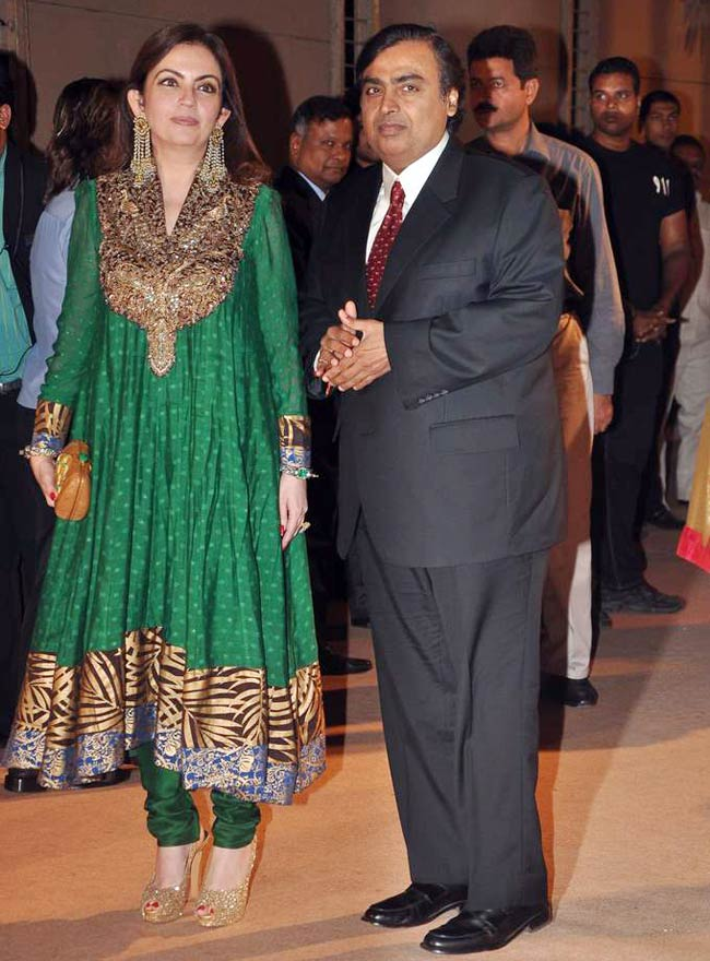 Nita Ambani Photos With Mukesh Ambani