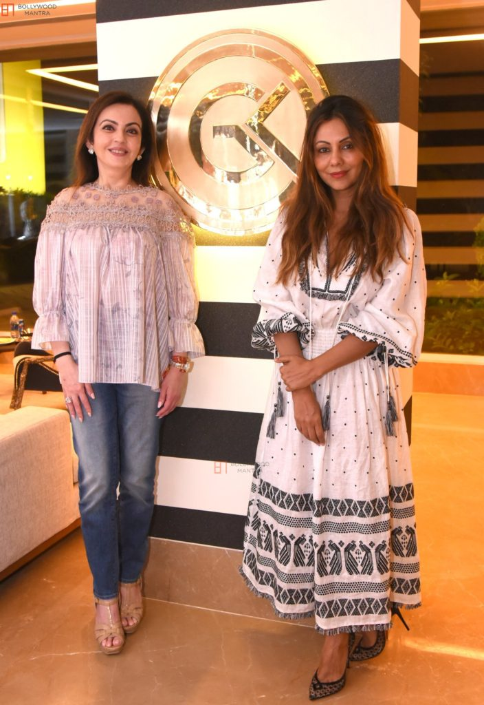Nita Ambani Pictures With Gauri Khan