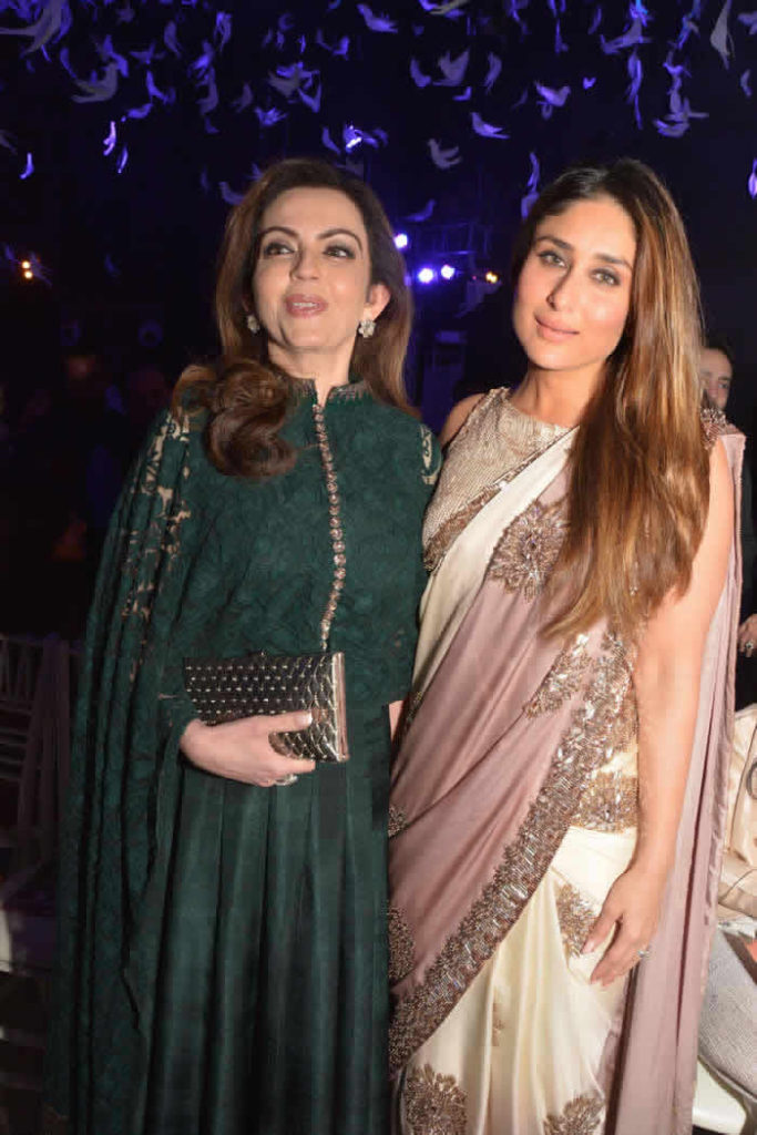 Nita Ambani Pictures With Kareena Kapoor