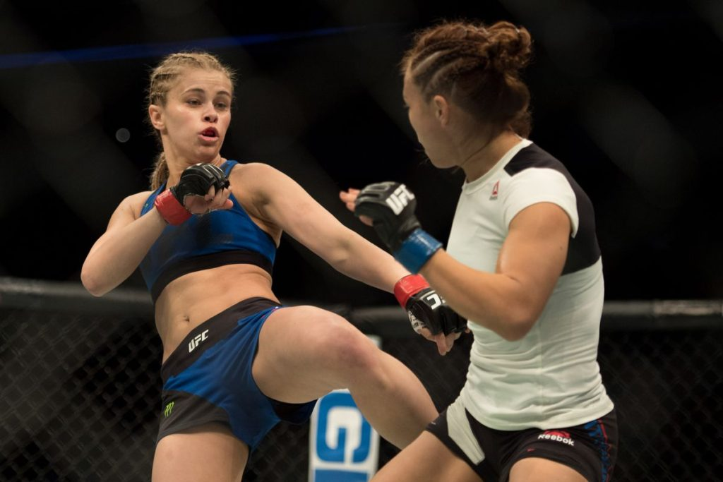 Paige VanZant Fight Pictures