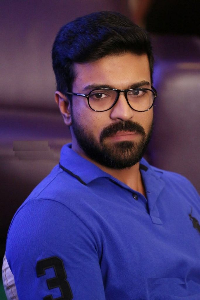 Ram Charan Beard Style Pictures