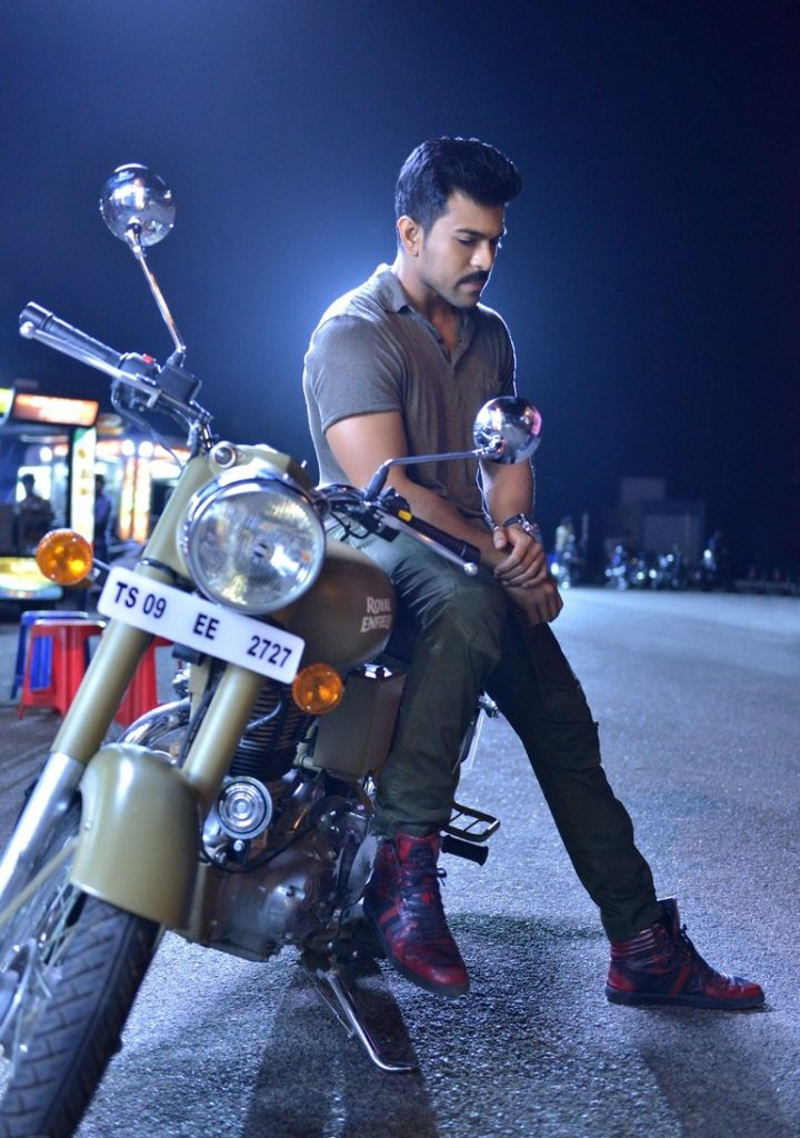 Ram Charan HD Photoshoot With Bike