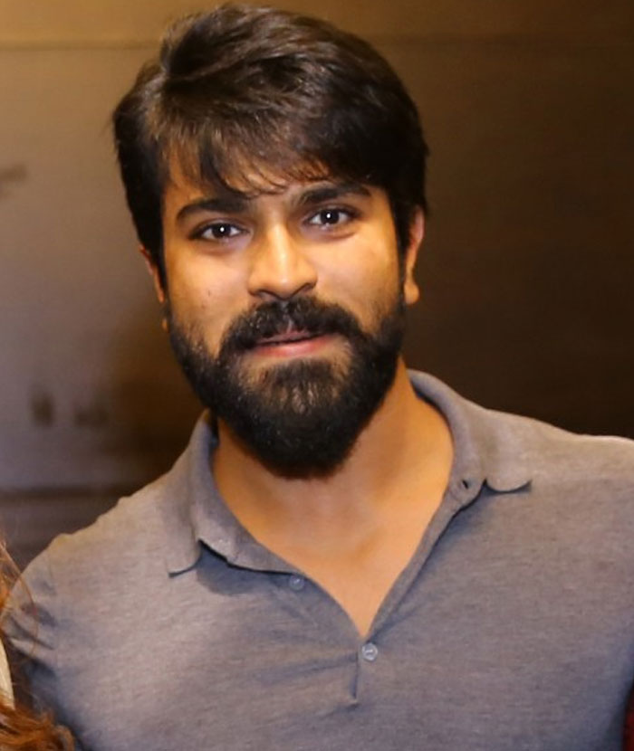 Ram Charan Latest New Hair Style Images