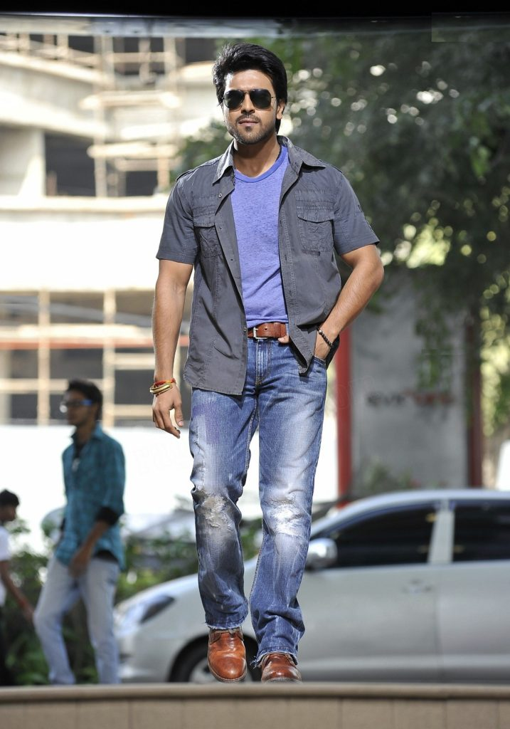 Ram Charan Movie Look Images