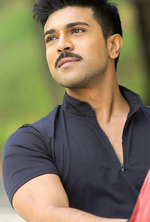 Ram Charan Sweet Photos