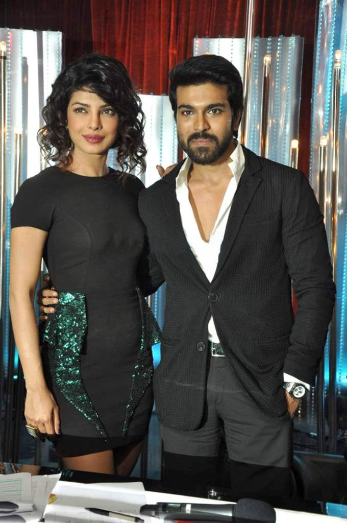 Ram Charan With Priyanka Chopra Pictures