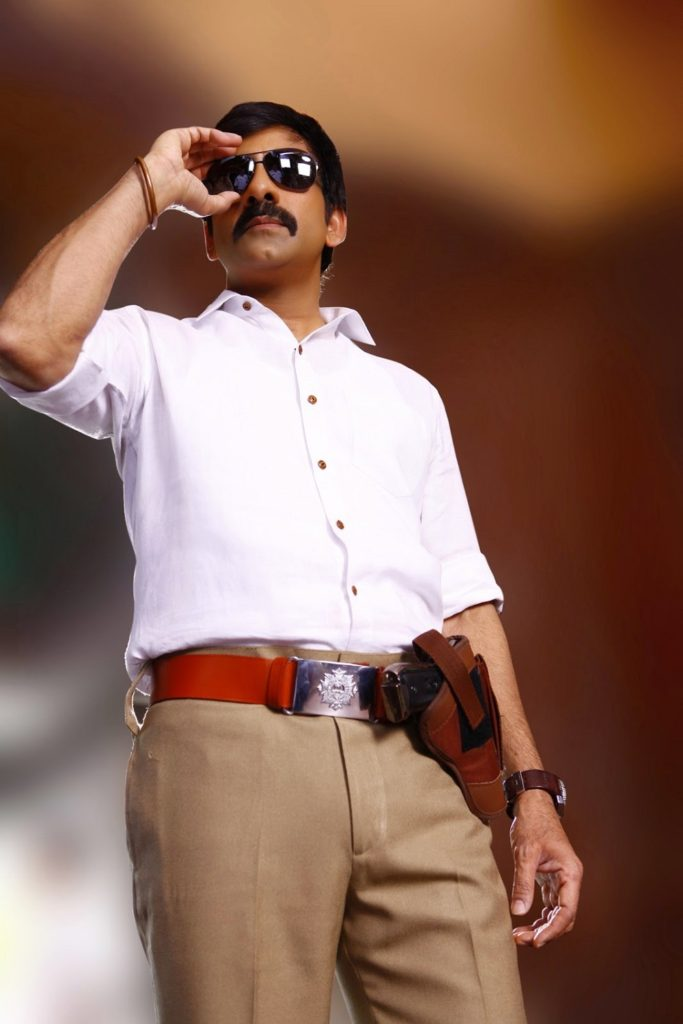 Ravi Teja New Look Wallpapers