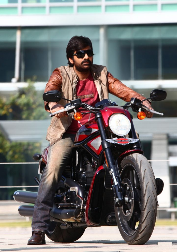 Ravi Teja Wallpapers With Bike
