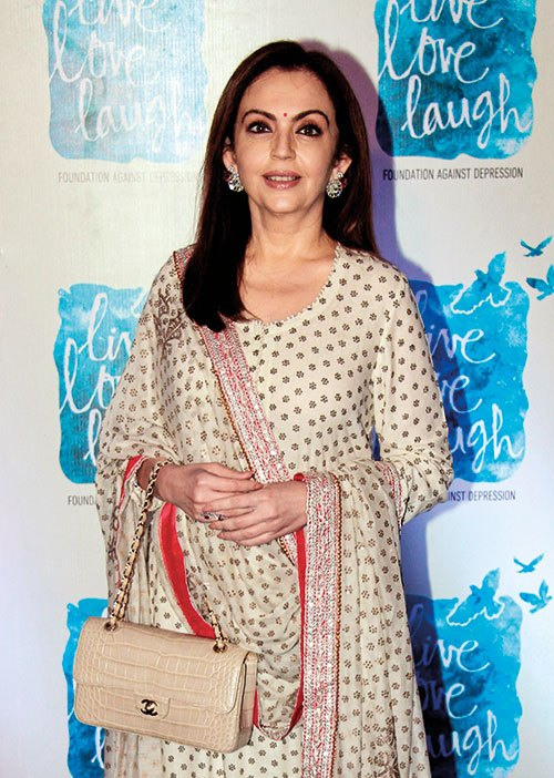 Reliance Foundation Chairperson Nita Ambani Photos