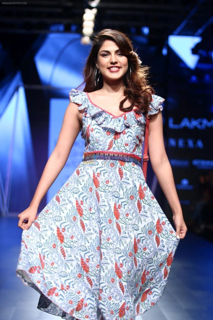 Rhea Chakraborty Hot Look Images At Rampwalk