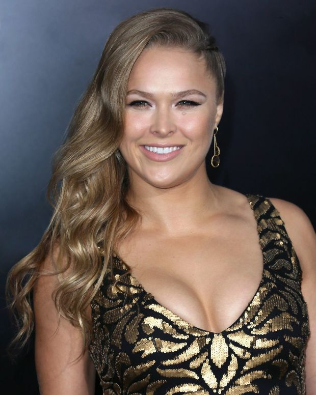 Ronda Rousey Hot Photoshoots At Event
