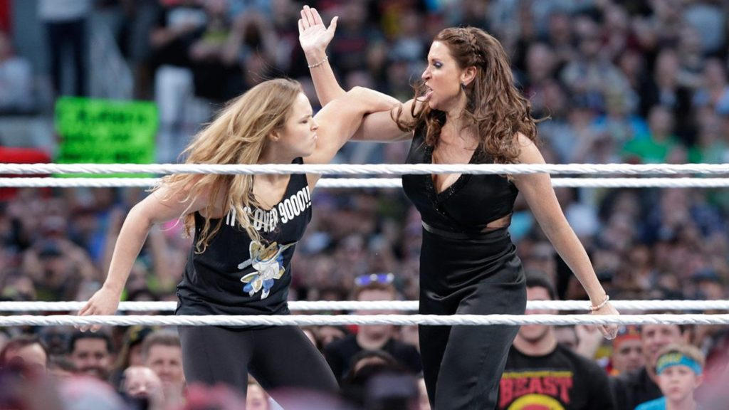 Ronda Rousey Photos In Ring