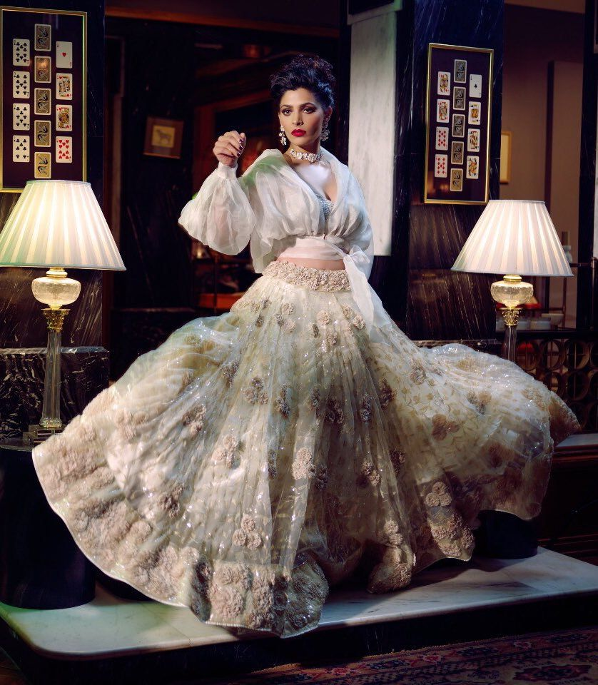 Saiyami Kher Hot Images In Royal Look