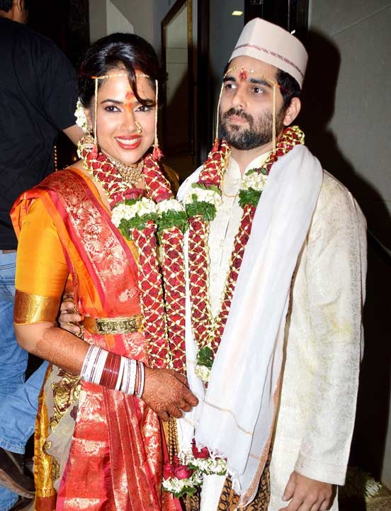Sameera Reddy Photos With His Husband