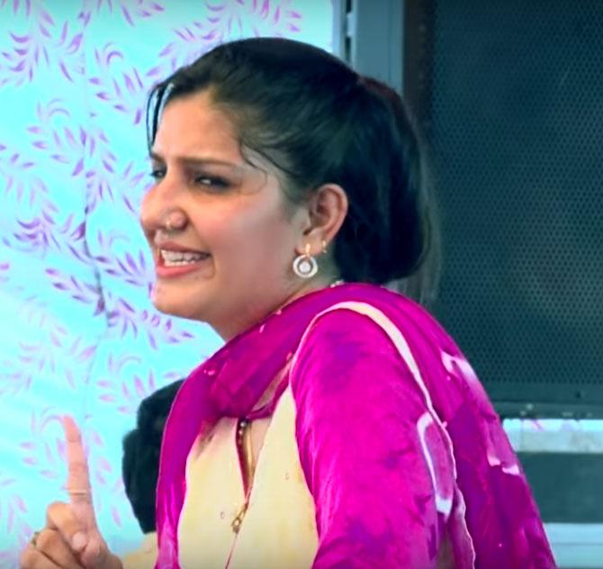 Sapna Choudhary Dance Wallpapers