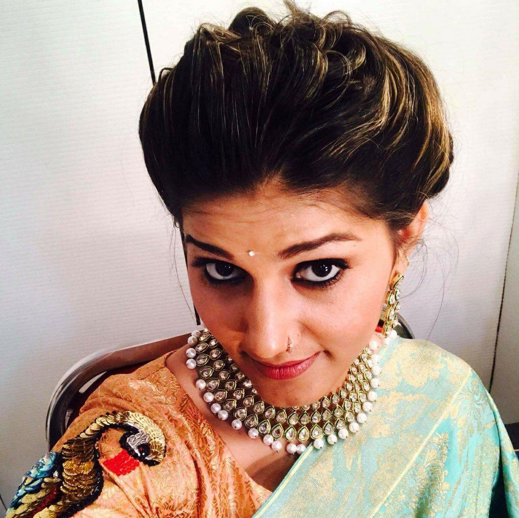 Sapna Choudhary Latest New Hair Style Pics