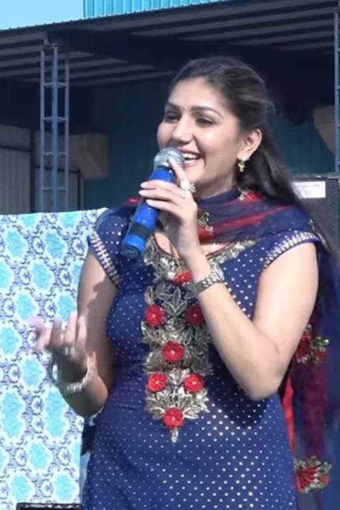 Sapna Choudhary Royal Look Images Photoshoot