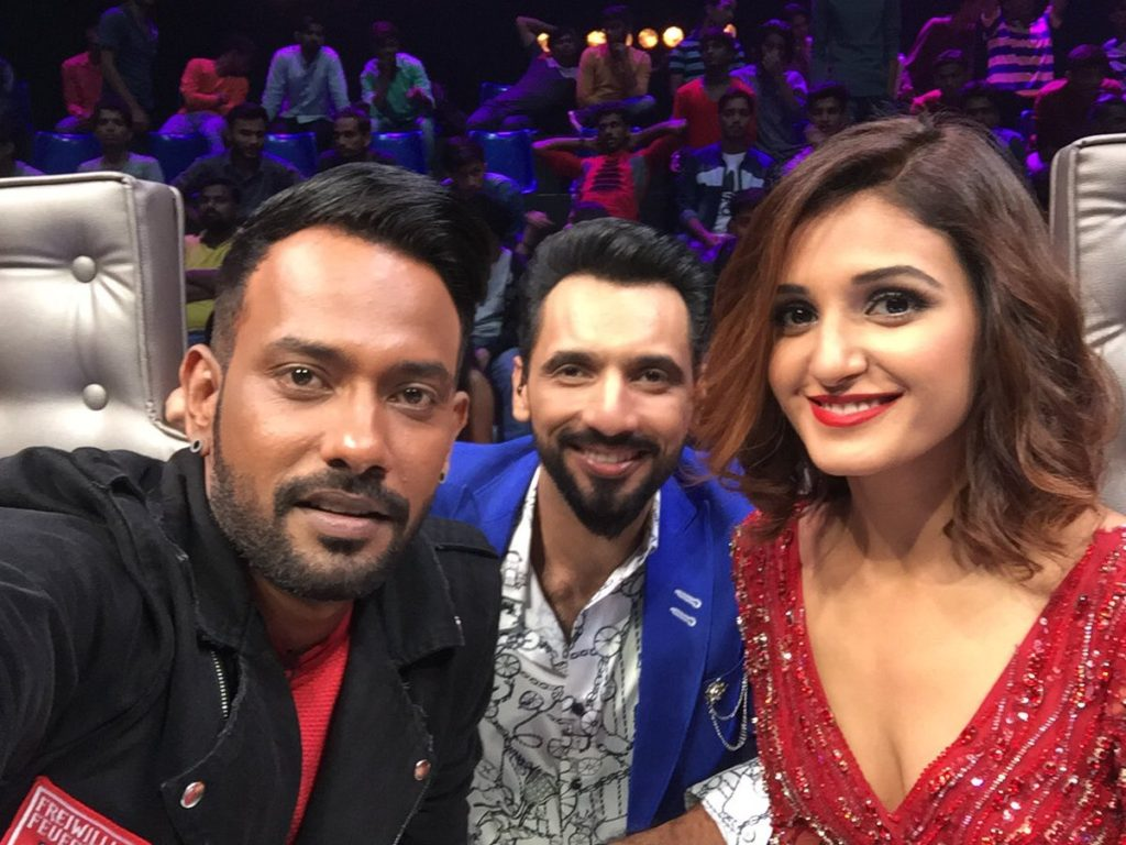 Shakti Mohan With Dharmesh Pictures