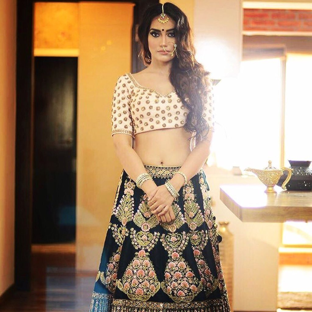 Surbhi Jyoti Hot Navel Images