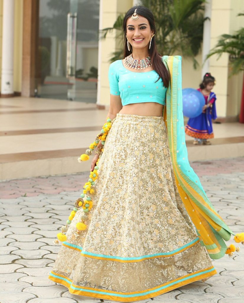 Surbhi Jyoti Imaes In Lehanga Choli