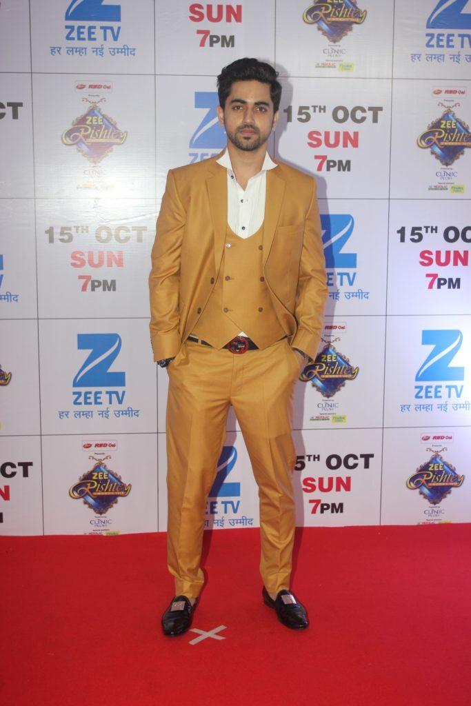 Zain Imam Pictures At Award Show