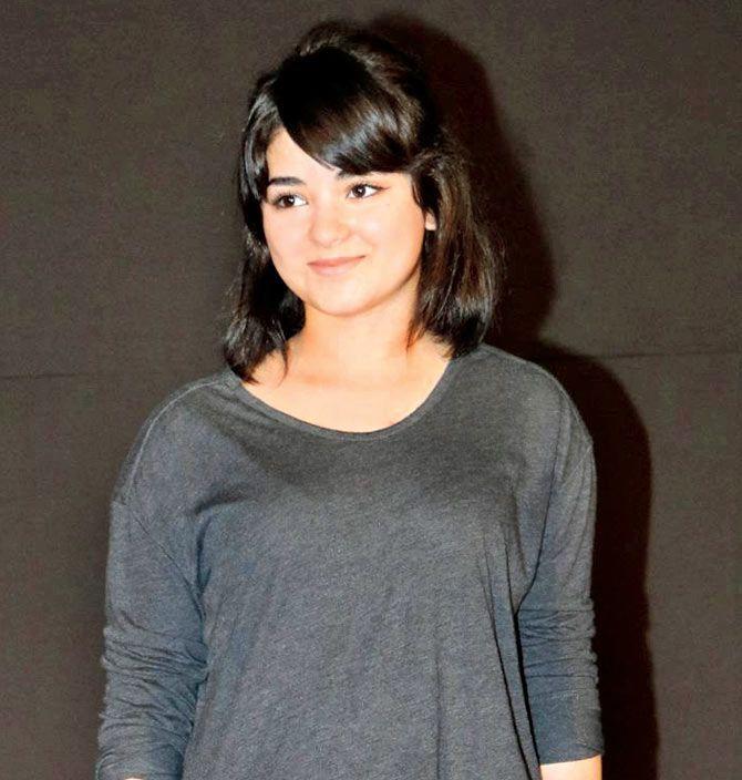 Zaira Wasim HD Sexy Images