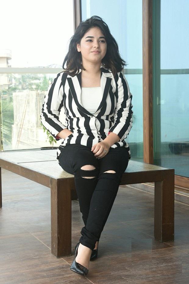 Zaira Wasim Hot In Jeans Top Photos